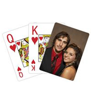 Jumbo Photo Playing Cards